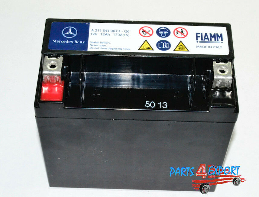 New mercedes benz secondary backup auxiliary battery for Mercedes benz starter battery