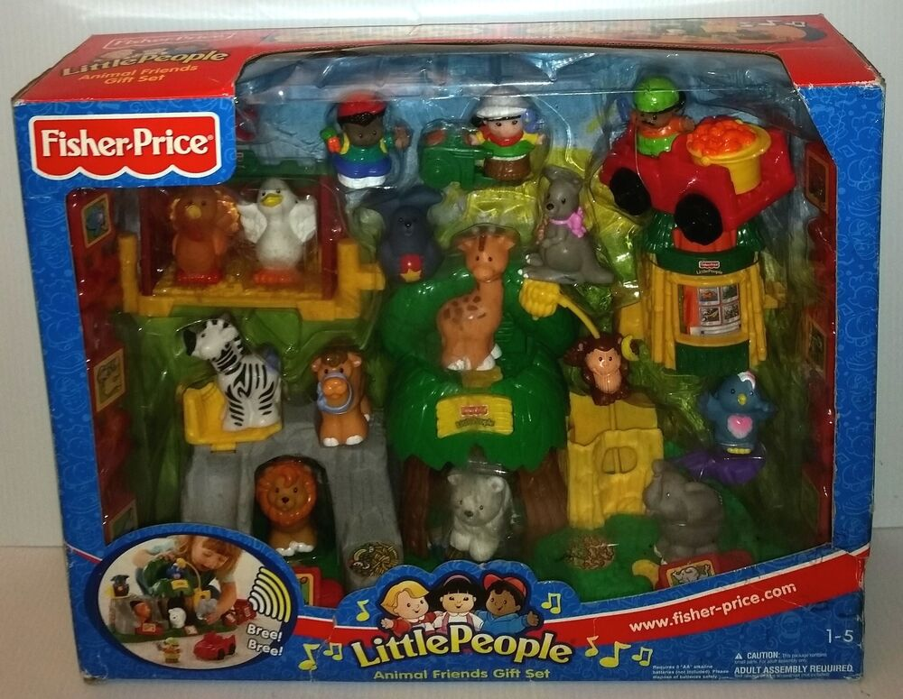 Fisher Price Little People Animal Friends Gift Set 915514