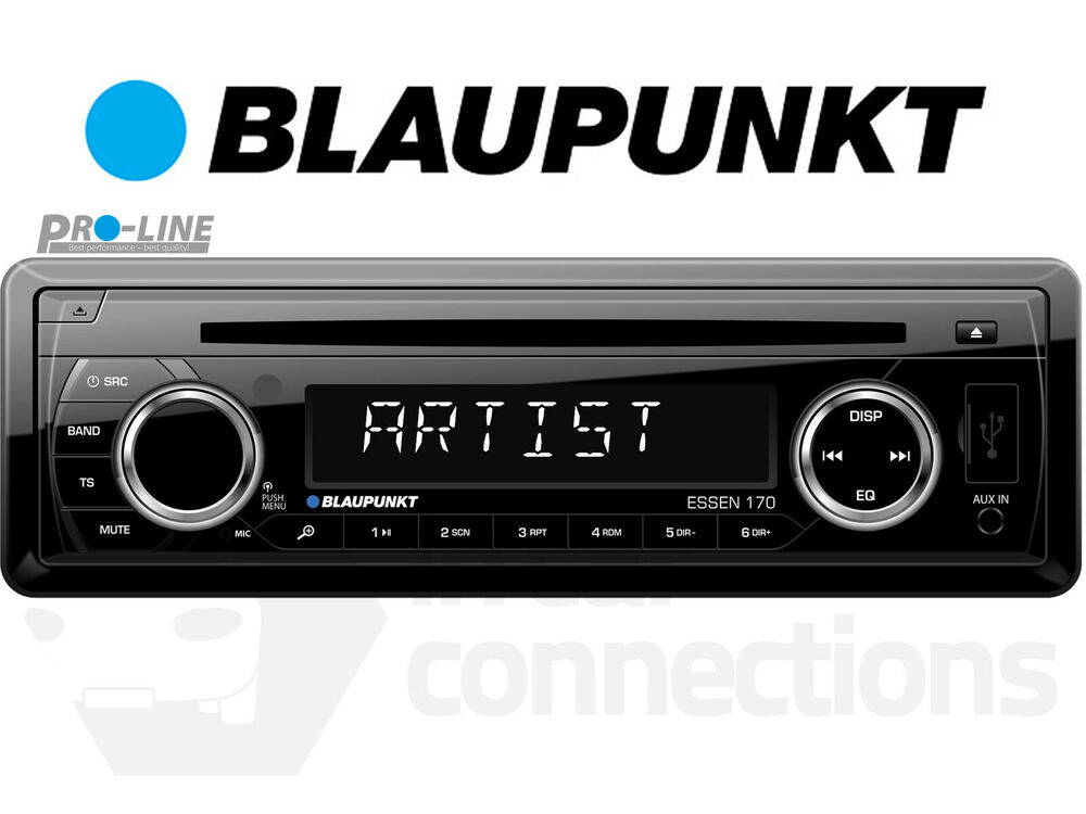 blaupunkt amsterdam 130 car radio stereo cd player usb in. Black Bedroom Furniture Sets. Home Design Ideas