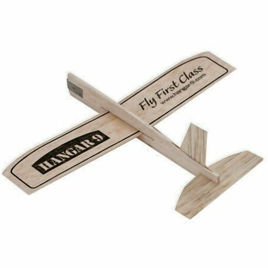 Rc Hangar 9 Balsa Wood Mini Glider Ready To Fly In Less