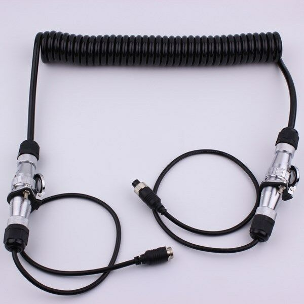 Rear View Camera Trailer Cable Connector Amp Receptacle With