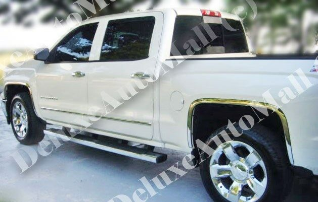 Chevy Silverado Chrome Accessories