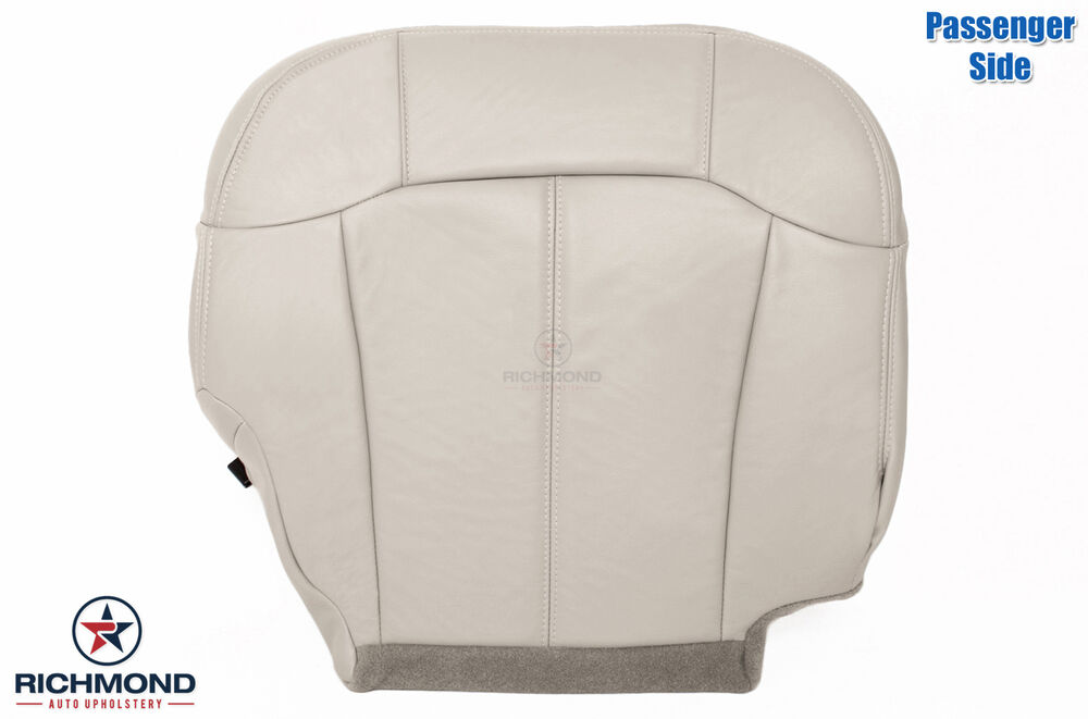Gm Replacement Seat Covers : Chevy tahoe lt z passenger side bottom replacement