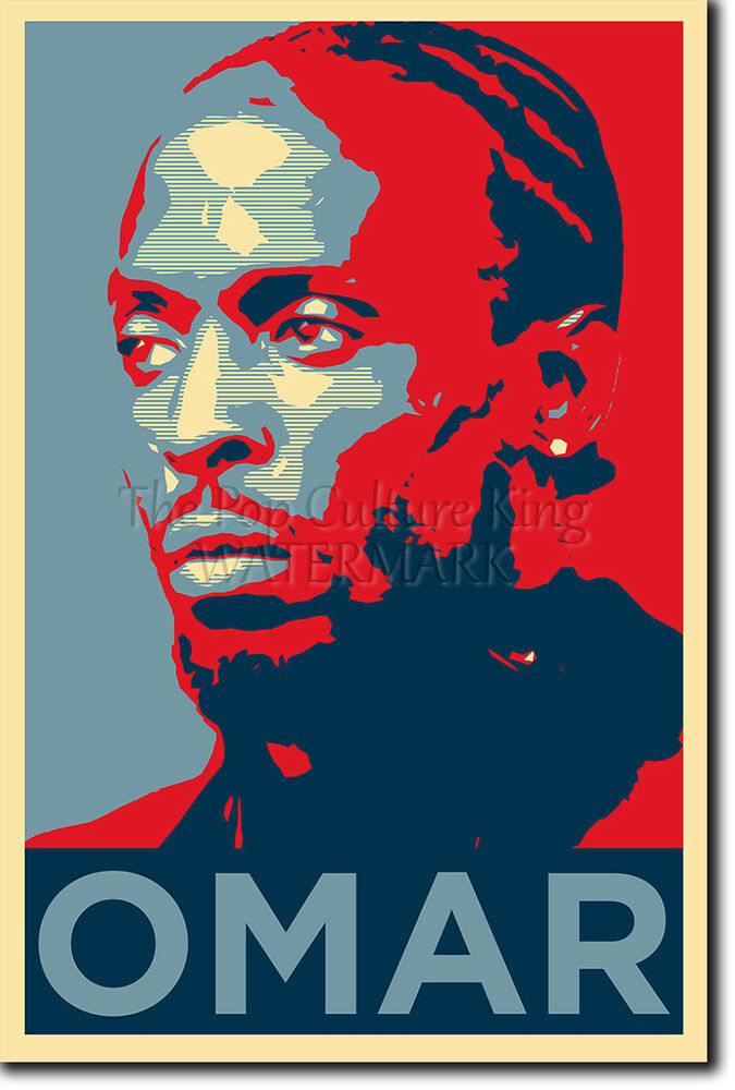 Omar Little Poster Unique Photo Art Print Gift Ebay