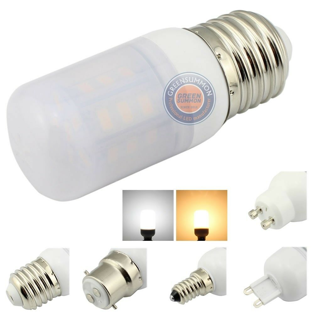 e26 e27 e12 e14 b22 g9 gu10 4w led lights warm white 12v 24v frosted cover bulb ebay. Black Bedroom Furniture Sets. Home Design Ideas