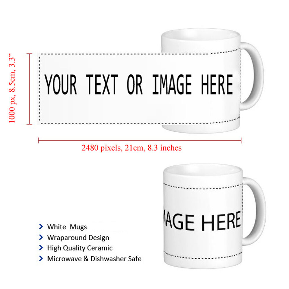 Personalised Mug Cup Valentine's Gift Your Image Photo ...