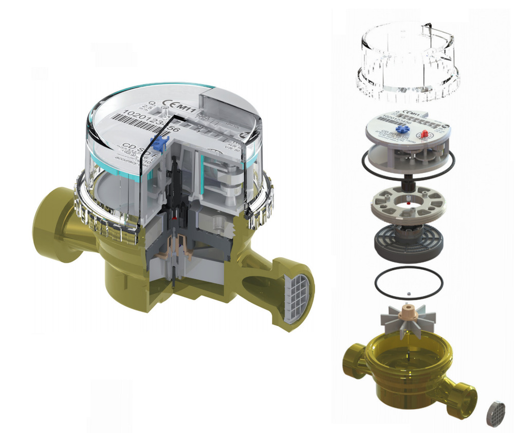 how to find water meter in house