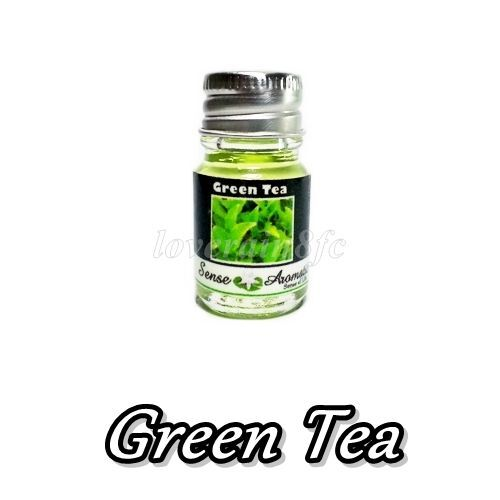 how to use green tea essential oil