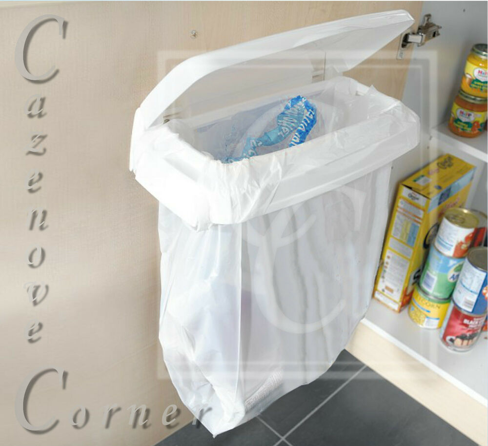 Carrier Bag Bin Holder Cupboard Door Bin Bag Holder Door