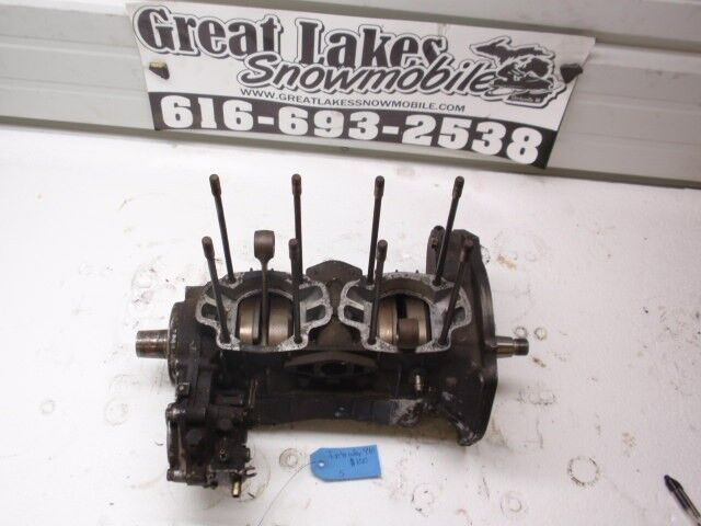 Kawasaki Intruder F  C Twin Snowmobile Engine Complete