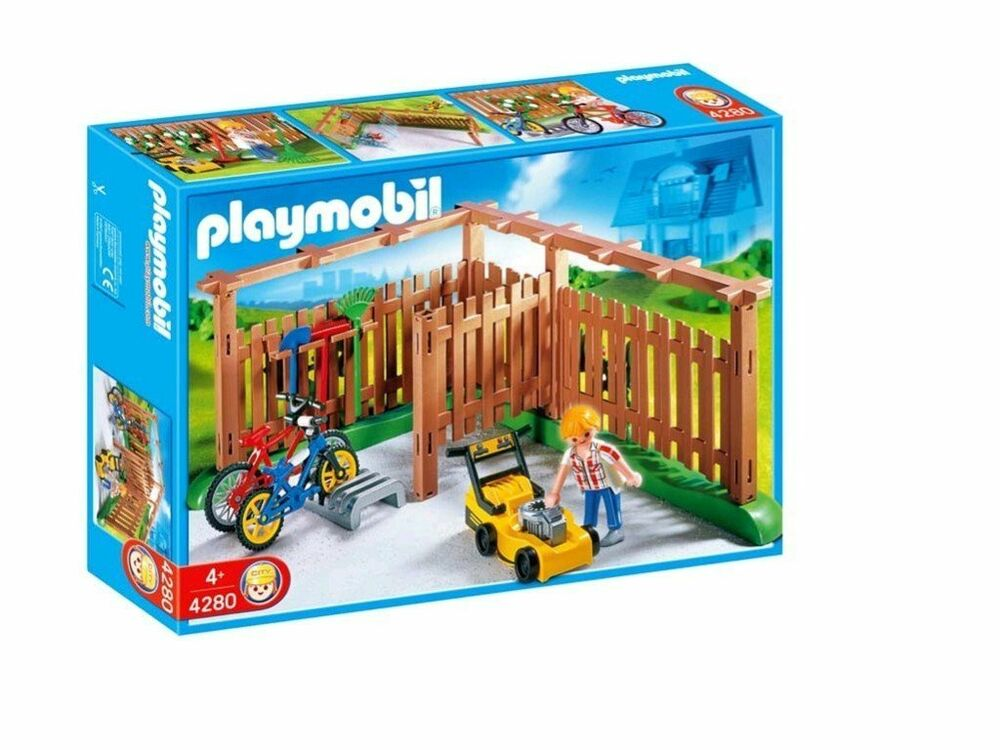 Playmobil Suburban House Backyard 4280 Ebay