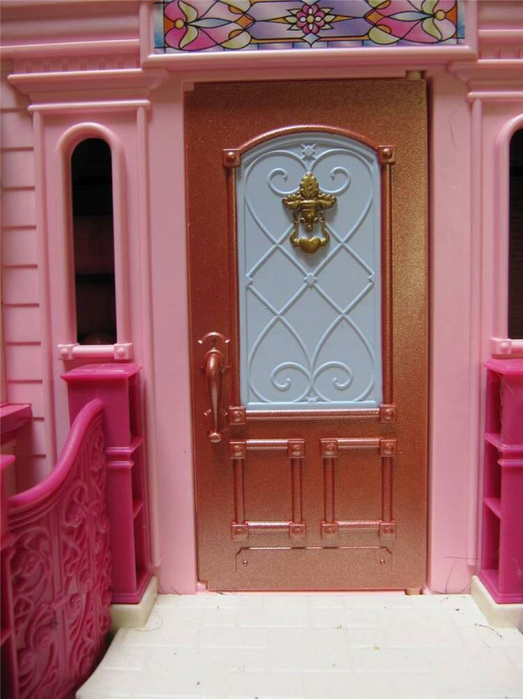 Fisher price loving family doll house grand mansion for Grand front doors