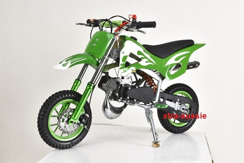 new 49cc mini motor dirt bike kids pocket rocket pull. Black Bedroom Furniture Sets. Home Design Ideas