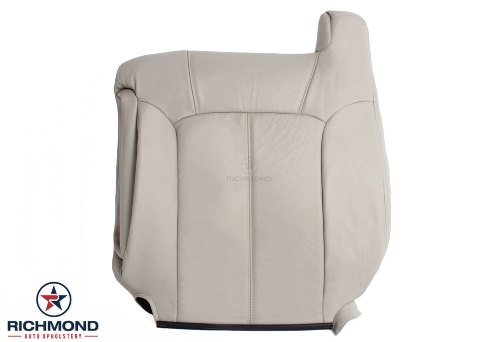 Gm Replacement Seat Covers : Chevy tahoe z driver side lean back replacement