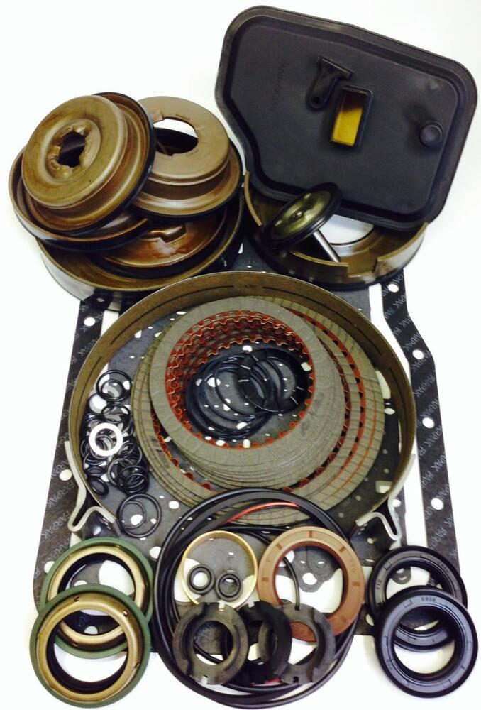 ford focus 4f27e 4 speed automatic transmission deluxe rebuild kit ebay. Black Bedroom Furniture Sets. Home Design Ideas