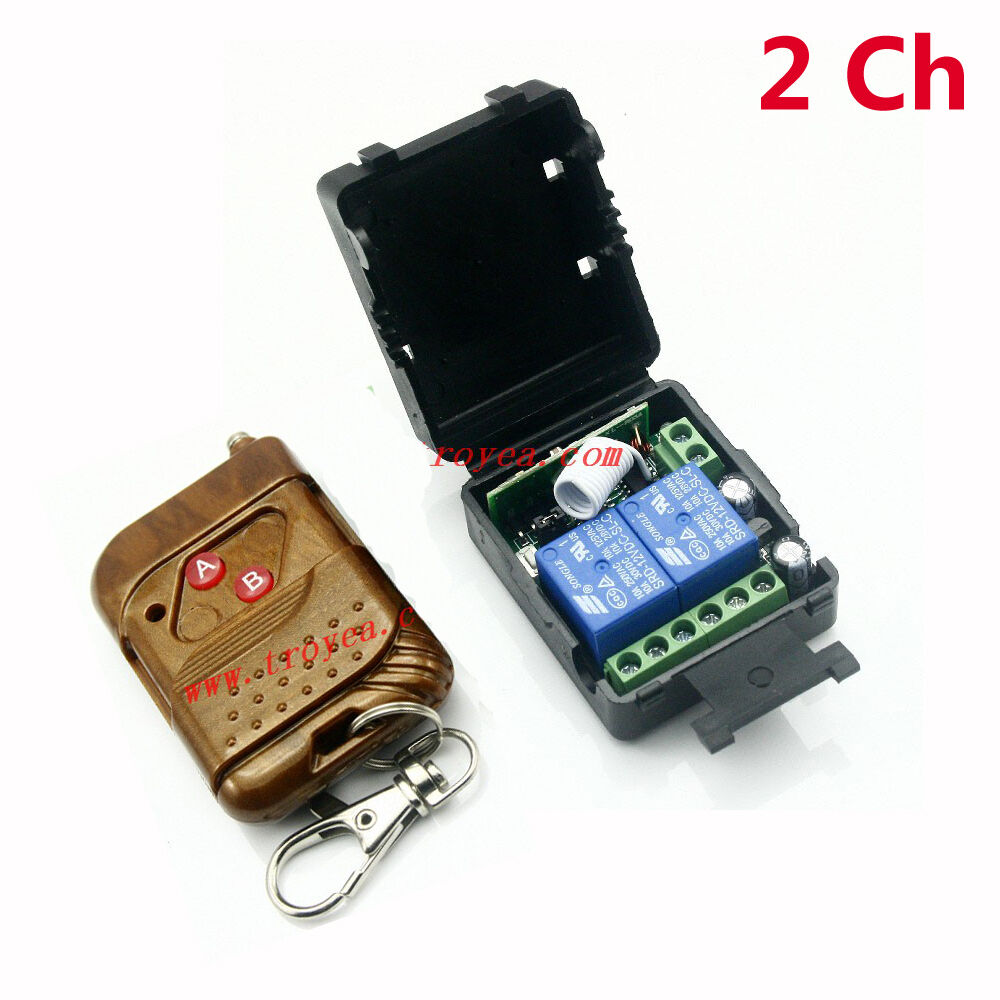 Rf Remote Control With 3 Channels By Pic12f509
