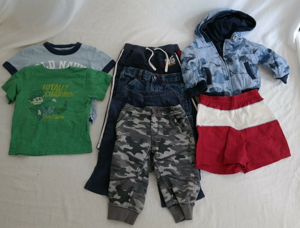 Boys Baby 18 month clothes lot Toddler Summer Fall Old