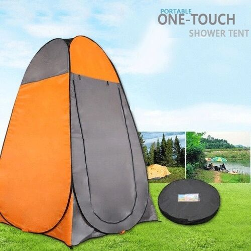 Pop Up Privacy Shelter : Pop up camping shower toilet tent outdoor privacy portable