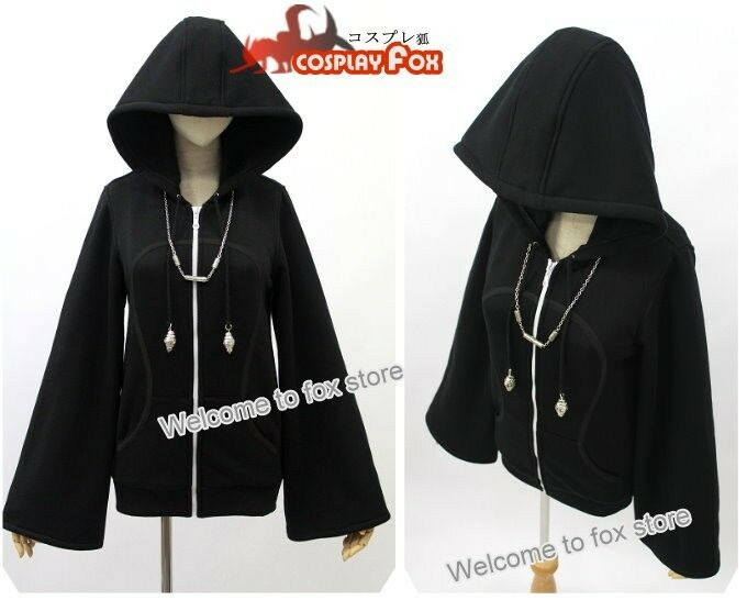 Kingdom Hearts Organization XIII Hoodie Jacket EoHsjqRN