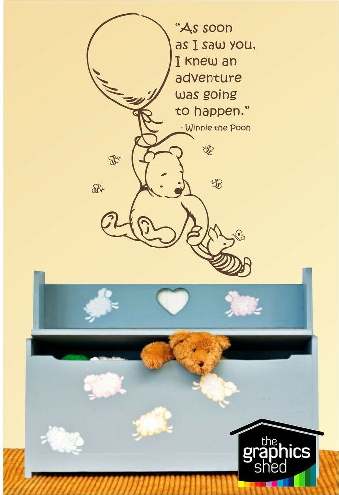 Winnie The Pooh Wall Art Quotes - Elitflat