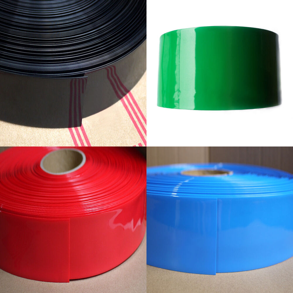 120mm 76mm pvc heat shrink tubing 6ft ebay. Black Bedroom Furniture Sets. Home Design Ideas
