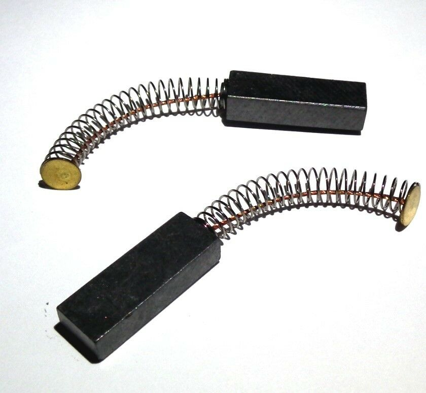 2pcs 6mm X 10mm X 30mm Electric Motor Carbon Brushes Power