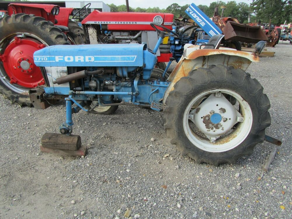 Ford 1710 Engine : Ford tractors for parts call or e