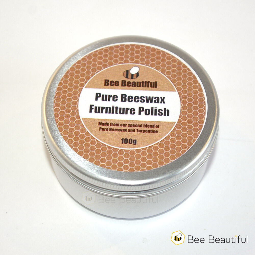 Pure beeswax furniture polish 100g 200g ebay for Furniture wax