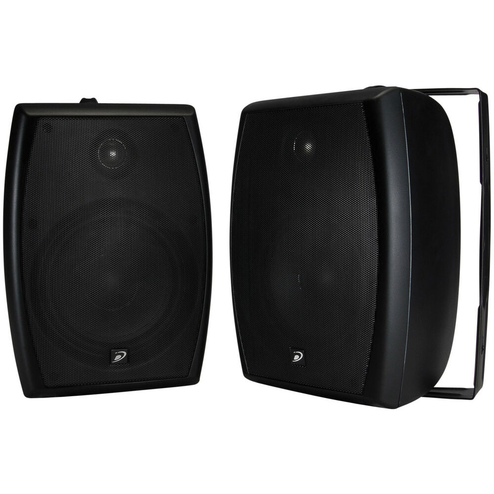 "Dayton Audio IO655B 6 1 2"" 2 Way Indoor Outdoor Speaker"