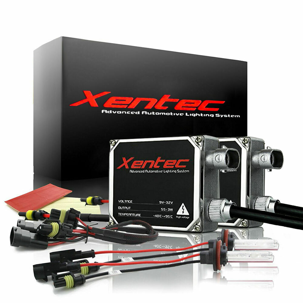 details about xentec 55w hid kit xenon light conversion h11 h4 9006 h1 h7  h13 9004 9007 5202