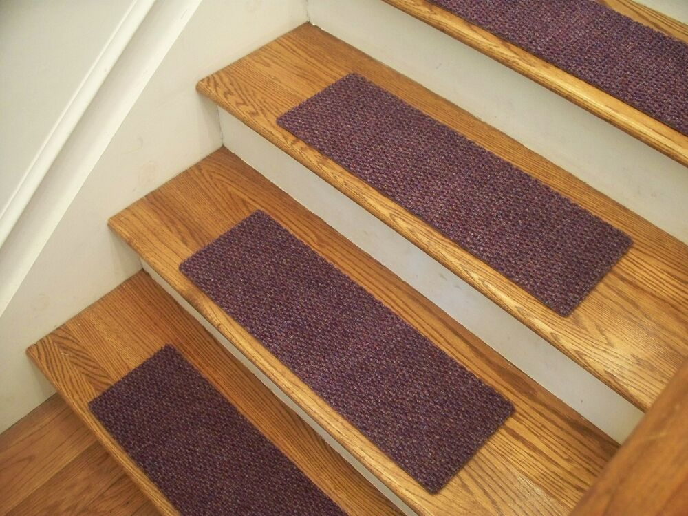 Premium Carpet Stair Tread Sets Berber Lavender 30 Quot X