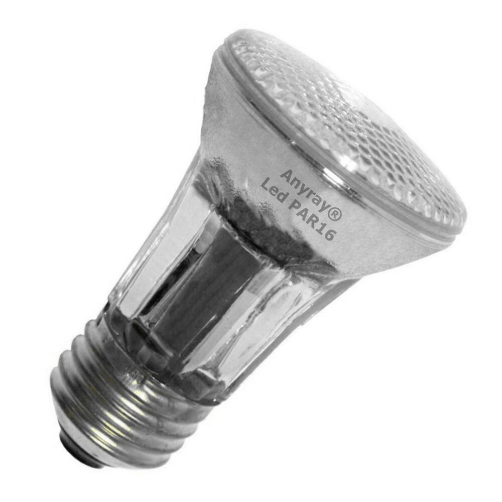 Anyray PAR16 LED Bulb Warm White Flood Light Medium E26