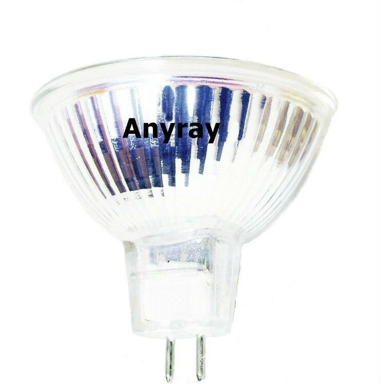 Q75mr16em Mr16 Halogen Light Bulb: (10)-Bulbs MR16 12-Volts 35W FMW Flood Halogen Light Bulbs