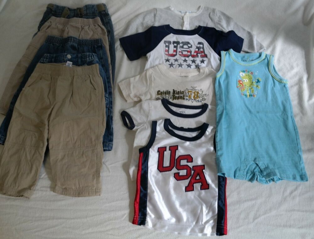 Boys 18 month clothes lot Toddler Summer Fall Old Navy
