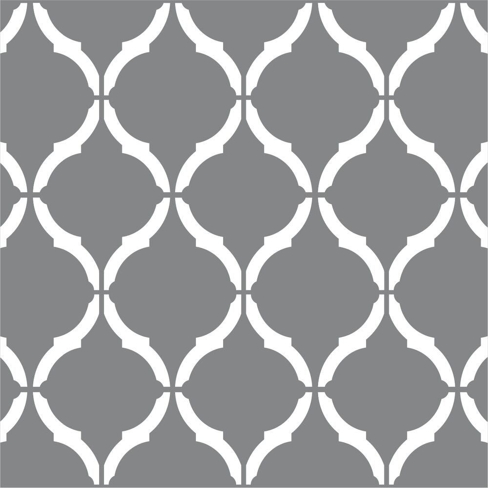 Moroccan wall stencil large 12 x9 craft airbrush pattern for Paint templates for walls