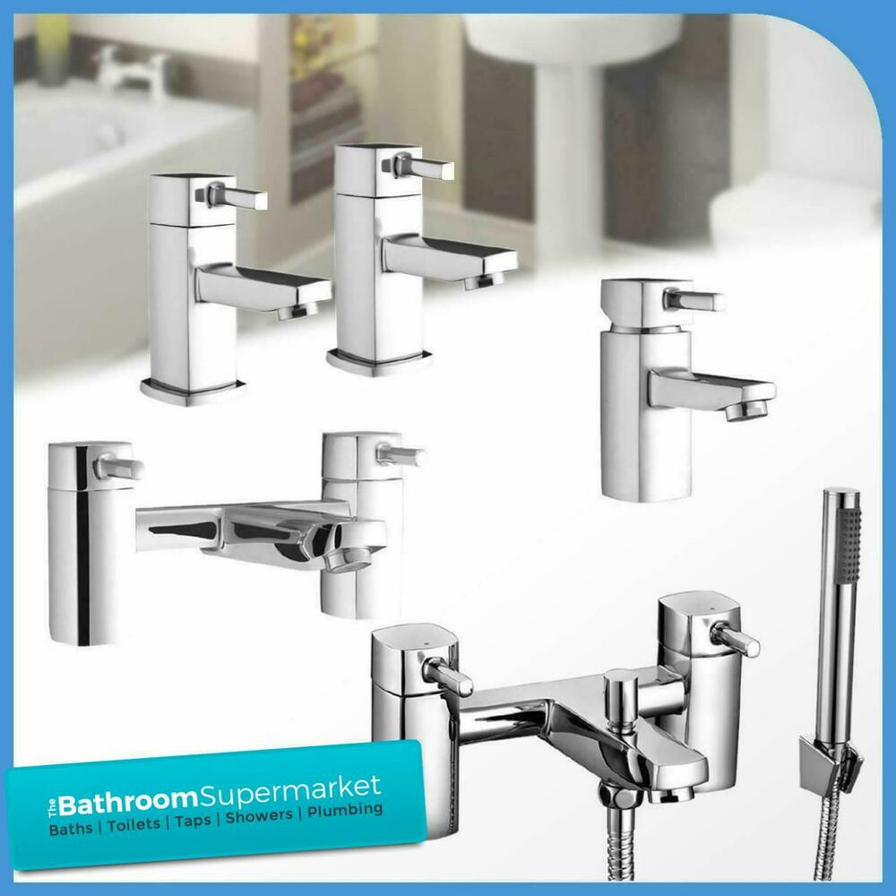 Modern forme chrome bathroom taps sink basin mixer bath for Bathroom taps