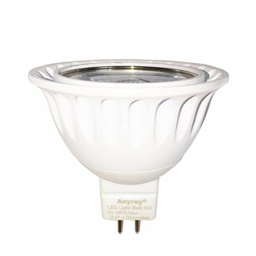 anyray led dimmable 3w gu5 3 mr16 bulb 12v the same as. Black Bedroom Furniture Sets. Home Design Ideas
