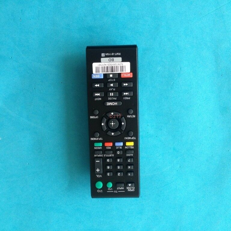 how to open sony remote control