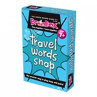Educational Travel Words Snap / Pairs Card Game for Children or School g24