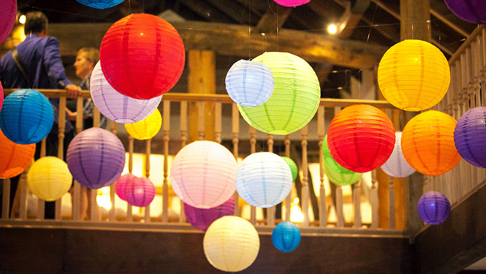Chinese Paper Lanterns Lamp Wedding Birthday Party Decoration All Size EBay