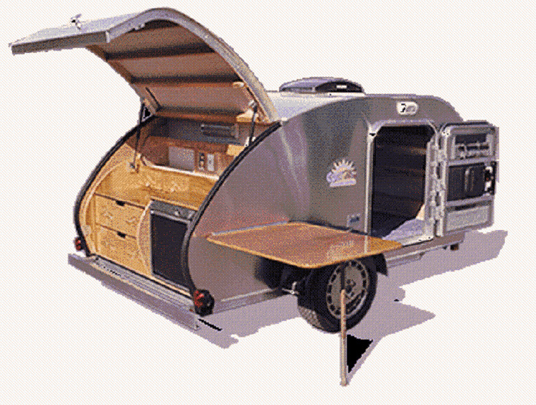 teardrop tear drop camper trailer rv pop up plans how to. Black Bedroom Furniture Sets. Home Design Ideas