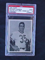 1961 FLEER WALLET PICTURES RICHARD RICK CASARES PSA 9 NQ POP 1 CHICAGO BEARS