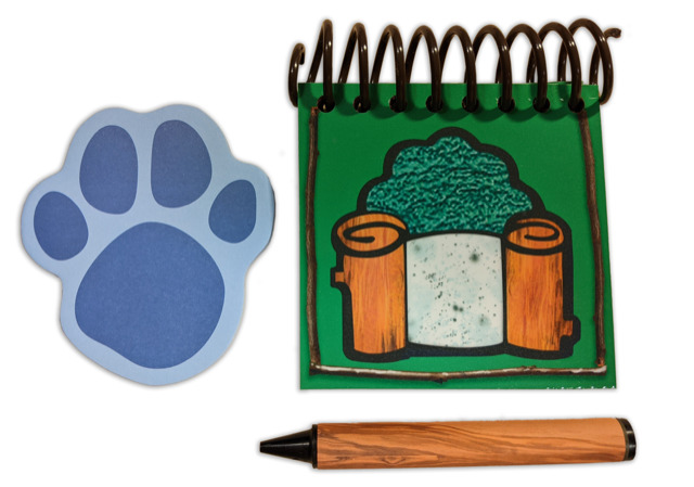 Blues Clues STEVE Lern to Draw Notebook Interactive NEW ...