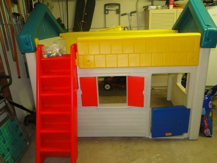 Little Tikes Twin Size Playhouse Bed Play House Pickup