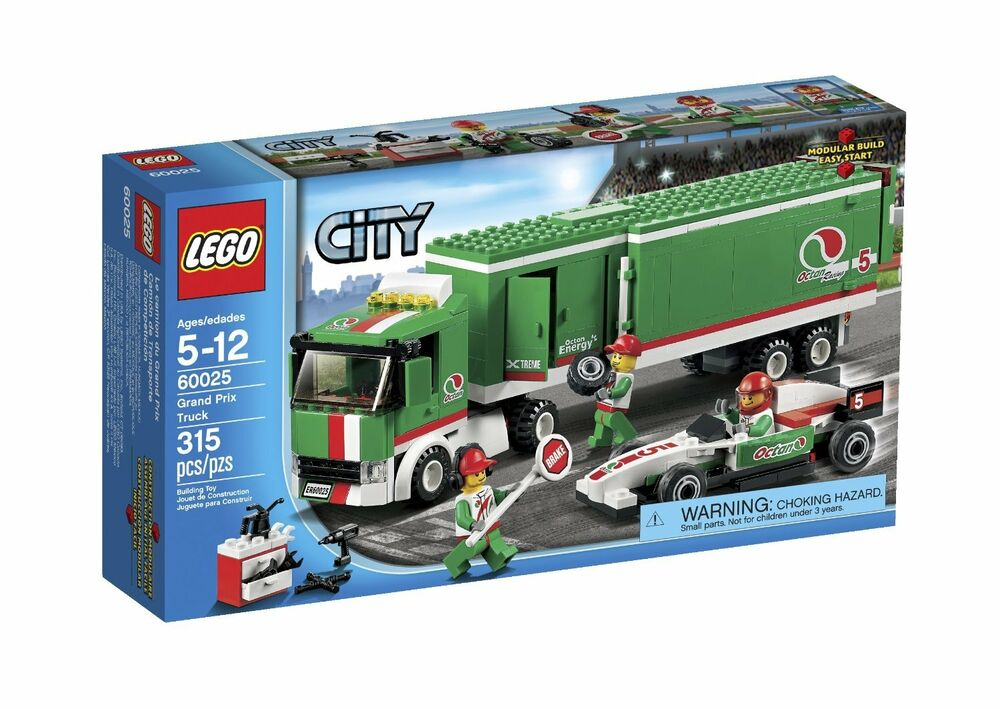 Toy Building Set For Boys : Lego city grand prix truck building toy