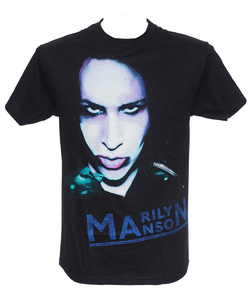 marilyn manson oversaturated official licensed t shirt. Black Bedroom Furniture Sets. Home Design Ideas