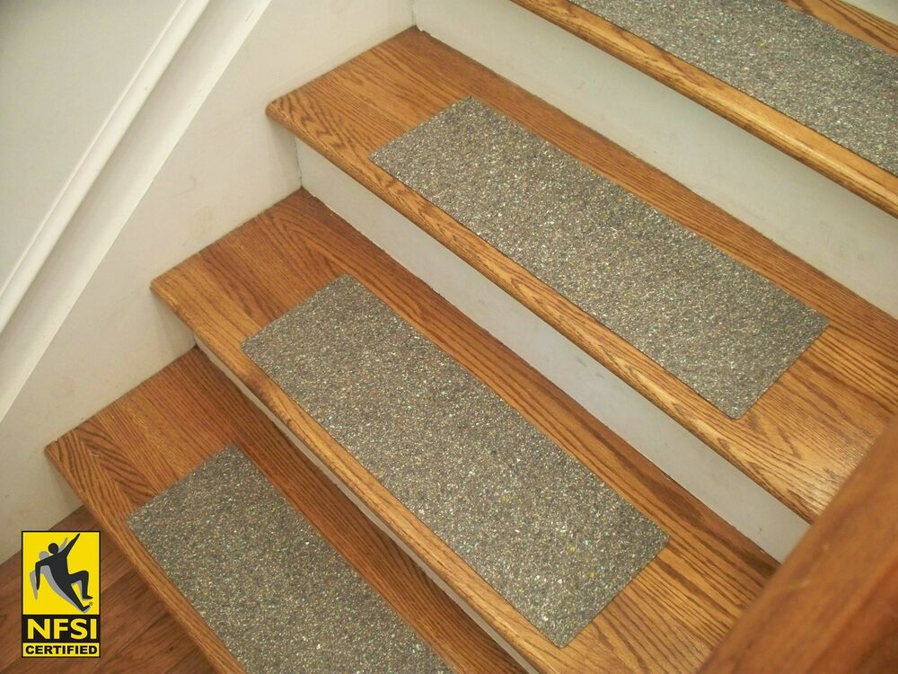 Nfsi High Traction Vinyl Stair Tread Sets Gray 36