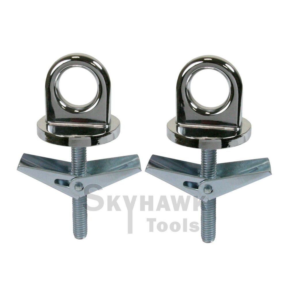 2 Pc Universal Truck Bed Anchor Points Tie Down Hooks