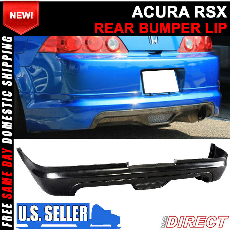 05-06 Acura RSX Coupe 2Dr Mugen PU Urethane Rear Bumper