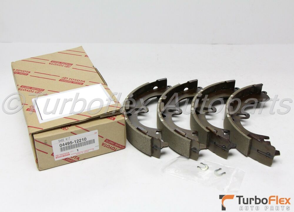 Toyota Corolla 1993 1997 Rear Brake Shoe Kit Genuine Oem
